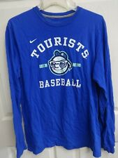 2013 MiLB Asheville Tourists Long Sleeve Pullover Baseball Shirt Men L Rockies