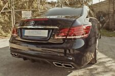 Mercedes E Coupe Cabrio 207 difusa kit AMG Black Series escapes normales tailpipes