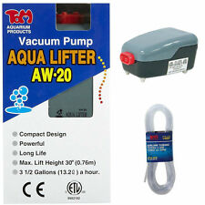 TOM AQUATICS AQUA-LIFTER DOSING PUMP AW-20 & 25 FEET OF FLEXIBLE AIR LINE TUBING