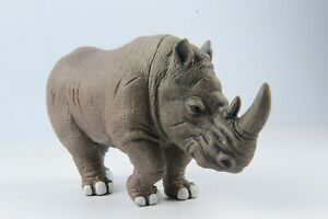 Wild Life Animal Rhinoceros Rhino Figure 4in. Height Model