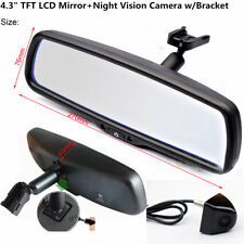 4.3''Auto Dimming Rear View Mirror Monitor TFT LCD+Car Monitor HD Rear View Cam
