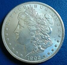 More details for usa 1902 morgan dollar, o mintmark = new orleans mint,  900 silver
