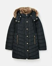 Joules Girls Cherington Padded Coat  - MARINE NAVY