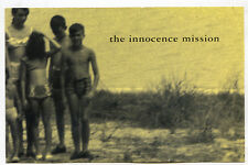 INNOCENCE MISSION Glow & Bright As Yellow promo POSTCARD 1995 A&M vintage 4x6 in