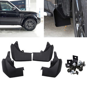 For Land Rover LR4 Discovery 4 Splash Guards Mud Flaps 2009-2016 Front Rear 4PCS