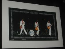 "JIMMY PAGE ""TRIO 1973"" LIMITED EDITION PRINT - SIGNED & NUMBERED - RARE!!"