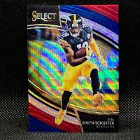 2018 Select JuJu Smith-Schuster Field Level Tri-Color Prizm #247 33/99 Steelers