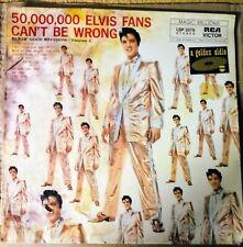 """Elvis'Gold Records Vol. 2 RCA LSP 2075 ORIGINAL Press* Import *12"""" Vinyl 33 rpm"""
