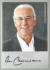 Franz Beckenbauer Germany Soccer Legend Autograph Signed 10.5cmX14.5cm Photo