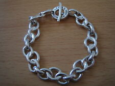 Nr Fine Vintage Links Of London Rare Olympic Style 925 Sterling Silver Bracelet