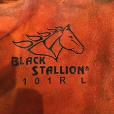 Black Stallion 101r Large Stick Welding Gloves New With Tags Insulated Welding