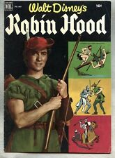 Four Color Comics #669-1955 fn- Robin Hood / Dell comic based on the Disney film