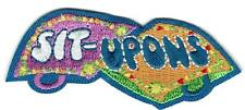 Girl Cub SIT-UPONS making Fun Patches Crests Badge SCOUT GUIDES crafting Apon