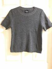 Zara Knit M grey  wool top