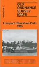 Old Ordnance Survey Mappa Liverpool Newsham Park 1905