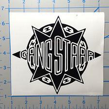 "Gang Starr Guru Dj Premier 5"" Black Vinyl Decal Sticker"