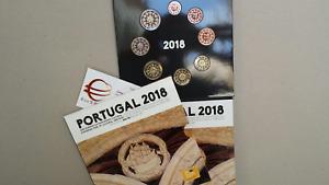 2018 Divisionale 8 monete 3,88 EURO PORTOGALLO BU UNC KMS portugal Португалия
