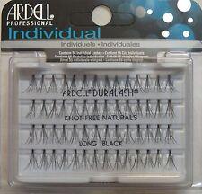 ( de nombreux 72) ARDELL DuraLash naturel knot-free long INDIVIDUEL NOIR Cils