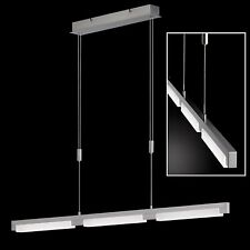 ☆ SALE ☆ Honsel LED Pendelleuchte Jim Nickel Acrylglas weiß dimmbar verstellbar