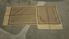 Foulard vintage scarf woman Gim Renoir Paris 100% poliestere made in Ital 136x28