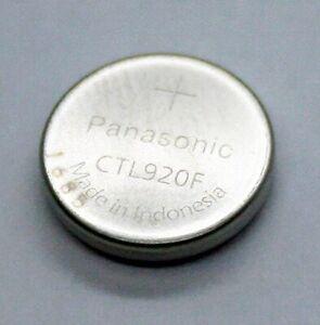 ✅ Akku Citizen | Panasonic Knopfzelle, Batterie CTL920F mit Fähnchen Accu ✅