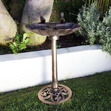 New listing Bird Bath with 2 Birds (Bronze)
