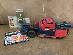 1986 GI Joe Cobra Dreadnok Car Thunder Machine w/ Thrasher Figure *Near Complete