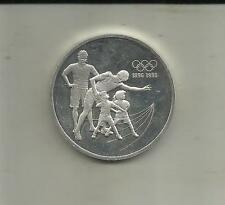 CANADA 15 DOLLARS 1992. 100 YEARS OF OLYMPIC GAMES. SILVER COIN. 5RW 05JUL