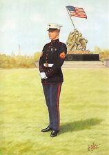 Postcard United States Marine Corps Corporal by Bryan Fosten #18-2