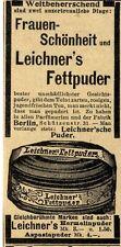 Leichner 's Donne-chirurgia - & Grassi CIPRIA storica promozionale 1910