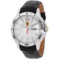 Ferrari Scuderia Quartz Movement Silver Dial Men's Watch 830092