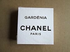 GARDENIA 1 SEALED PACK 50 CHANEL PERFUME BLOTTER CARDS NEW CC CARD SET