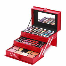 Makeup Kit Set Cosmetic Eyeshadow Blush Powder Lip Gloss Gift Lot Women Palette