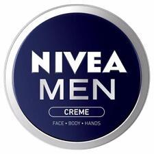 ** NIVEA MEN CREME 75ml MOISTURISER CREAM ** NEW FACE BODY HANDS