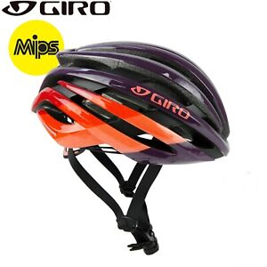 Giro Ember MIPS Cycling Helmet - Dusty Purple Bars - Sizes S, M