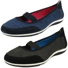 Leather Elastic Loafers Flats for Women