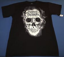 Nwt Disney Parks Disneyland Pirates Of The Caribbean Mens Black T Shirt Small S