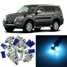 Ice Blue 14pcs Interior LED Light Kit for 2007-2015 Mitsubishi Montero Pajero