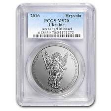2016 Ukraine 1 oz Silver Archangel Michael MS-70 PCGS - SKU #152140