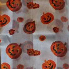 KIRKS FOLLY Pumpkin Patch Halloween Scarf with White Background