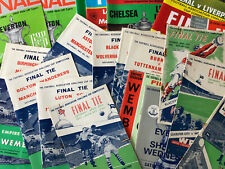 More details for fa cup final programmes 1940's onwards - *choose from list* - discount available