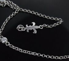 Judith Ripka 18'' Sterling Silver Cupid Zirconia Bezel Station Chain Necklace