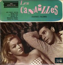 """MARGUERITE MONNOT LES CANAILLES FRENCH OST EP 45 PS 7"""""""