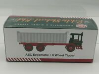 Atlas Editions 1/76 Scale-AEC Ergomatic 6 Wheel Tipper  - Stobart 4649104