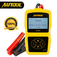 Autool BT360 Battery System Tester Auto Lead Acid Charging Tester For 12V Car