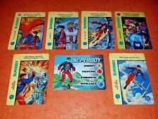 OVERPOWER Superboy SET hero 6 sp Dubbilex VR OPD The Ravers JLA Dubbilex