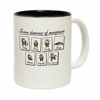 Seven Dwarves Of Menopause Tea Novelty Joke Humour MUG cup birthday funny gift