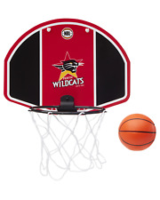 Perth Wildcats 19/20 Official Nbl Mini Basketball Backboard Ring Hoops