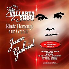 Banda Vallarta Show Rinde Homenaje a Juan Gabriel CD New Nuevo Sealed