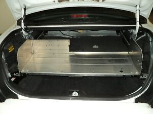Complete Ford Crown Victoria Police Trunk Aluminum Tray Organizer Full Width